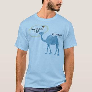 それはかわいく、おもしろいなこぶ日のラクダです Tシャツ