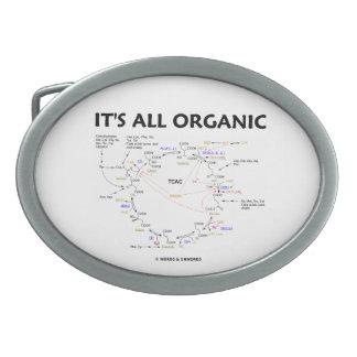 それはすべてのオーガニックです(Krebs周期のCtiricの酸周期) 卵形バックル