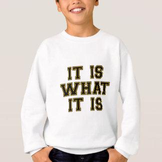 それはそれがであるものです スウェットシャツ