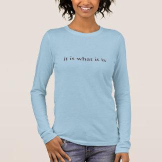 それはそれがであるものです 長袖Tシャツ