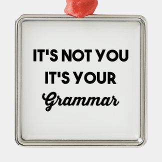 それはそれによってがあなたの文法であるではないです メタルオーナメント