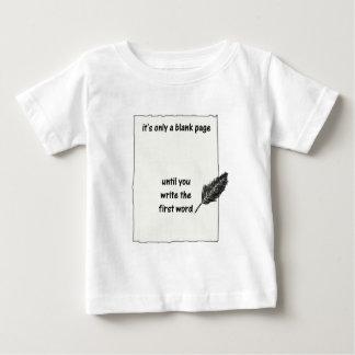 それはただの白ページ…です ベビーTシャツ