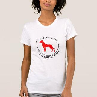 それはちょうど犬ではないです Tシャツ