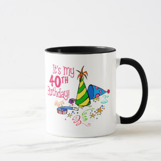 それはです私の第40誕生日(パーティーの帽子) マグカップ
