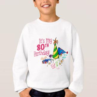 それはです私の第80誕生日(パーティーの帽子) スウェットシャツ
