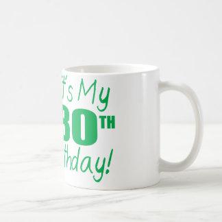 それはです私の第80誕生日(気球) コーヒーマグカップ