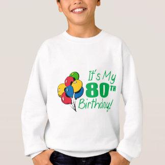それはです私の第80誕生日(気球) スウェットシャツ