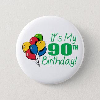 それはです私の第90誕生日(気球) 5.7CM 丸型バッジ