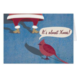 それはほとんどクリスマスです カード