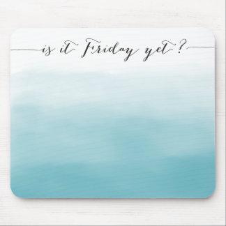 それはまだ金曜日か。 - mousepad -グラデーションな青 マウスパッド
