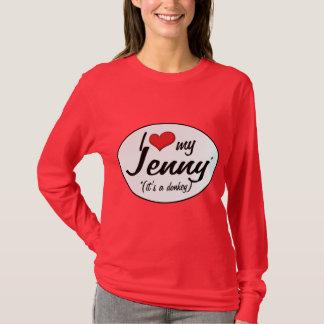 それはろばです! 私は私のジェニーを愛します Tシャツ