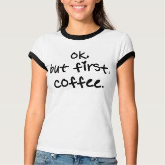 それはわかりましたが、最初に、コーヒーティー Tシャツ