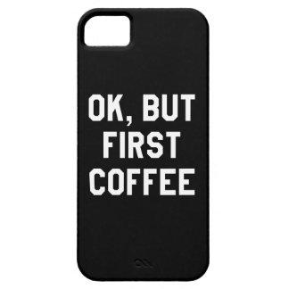 それはわかりましたが、最初コーヒー iPhone SE/5/5s ケース
