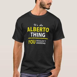 それはアルベルトの事、理解しませんです!! Tシャツ