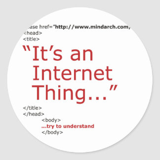 それはインターネットの事です ラウンドシール