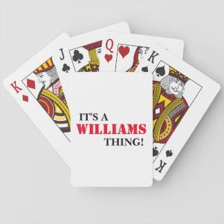それはウィリアムスの事です! トランプ