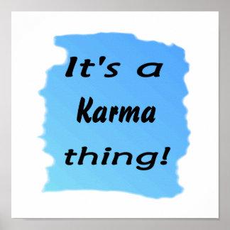 それはカルマの事です! ポスター