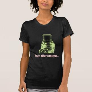 それはカワウソのナンセンスのワイシャツのかわいい動物です Tシャツ