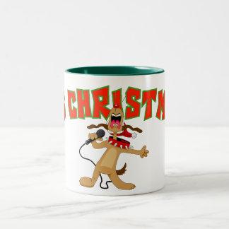 それはクリスマスです! ツートーンマグカップ