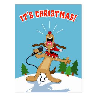 それはクリスマスです! ポストカード