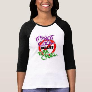 それはクールではないBella 3/4枚の袖のRaglanのTシャツではないです Tシャツ