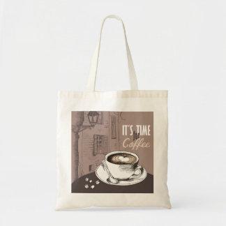 それはコーヒーの時間です トートバッグ