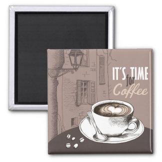 それはコーヒーの時間です マグネット