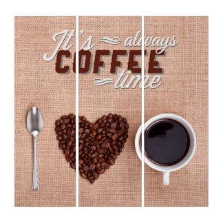 それはコーヒー時間常にです トリプティカ