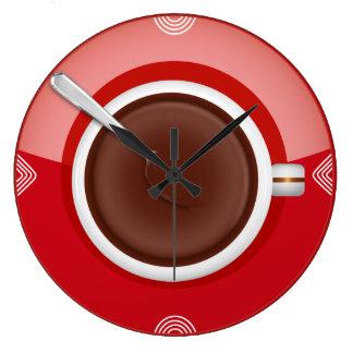 それはコーヒー時間柱時計です ラージ壁時計