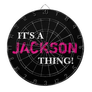 それはジャクソンの事です! ダーツボード