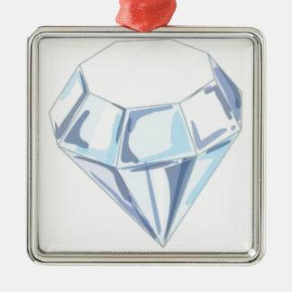 それはダイヤモンドを切るためにダイヤモンドを取ります メタルオーナメント