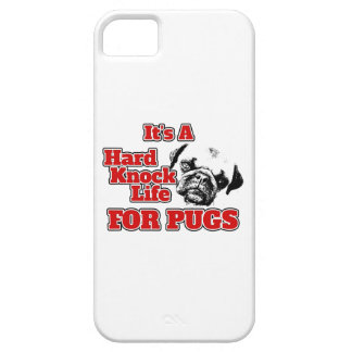 それはパグのための堅いノックの生命です-場合に電話をかけて下さい iPhone SE/5/5s ケース