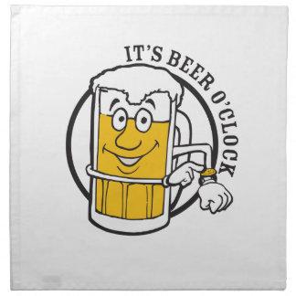 それはビールビール時の時間常にです ナプキンクロス