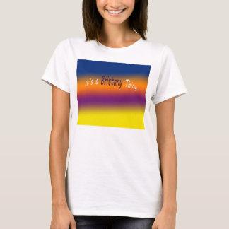 それはブリッタニーの事です Tシャツ
