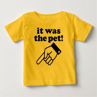 それはペットでした! ベビーTシャツ