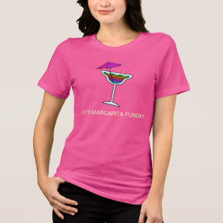 それはマルガリータFUNDAYです! Tシャツ、フード付きスウェットシャツ Tシャツ