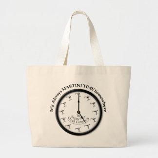それはマルティーニの時間どこかにトートバック常にです ラージトートバッグ