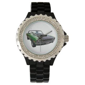 それはモーター頭部のメンズウォッチの時間です 腕時計