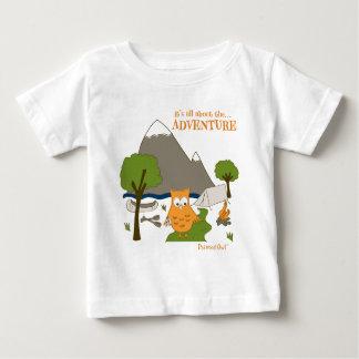それは冒険について完全にあります ベビーTシャツ