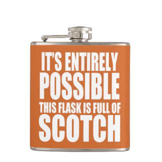 それは可能これです私のスコットランドのフラスコです フラスク