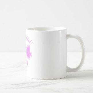 それは女の子です! サテンリボンおよび弓 コーヒーマグカップ