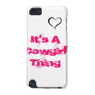それは女性のカーボーイの事の電話箱です iPod TOUCH 5G ケース