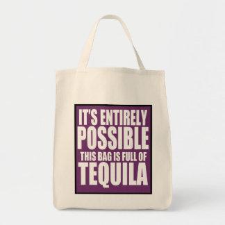 それは完全に可能これです私のテキーラのバッグです トートバッグ