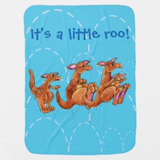 それは小さいrooです! 男の赤ちゃんの毛布 ベビー ブランケット