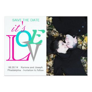 それは愛保存日付の結婚式の発表です カード