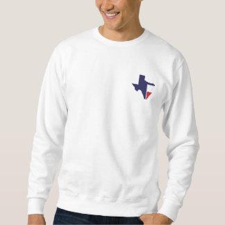 それは時間のテキサス州の男性プルオーバーです スウェットシャツ