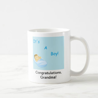 それは男の子です コーヒーマグカップ