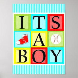それは男の子です ポスター