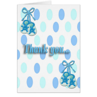 それは男の子です-利得のシャワーはメッセージカード感謝していしています カード