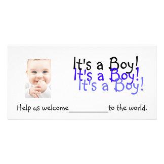 それは男の子です!  招待状